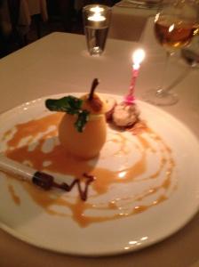 50th bday dessert