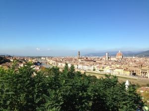 Florence from Piazza Michelangelo