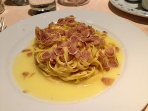 Whitetruffle pasta